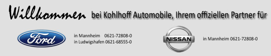 kohlhoff automobile mannheim und ludwigshafen. Black Bedroom Furniture Sets. Home Design Ideas